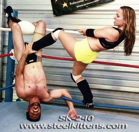 SK-240 Steel Kittens Mixed Wrestling